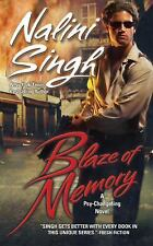 Blaze Of Memory by Nalini Singh (2009 , Paperback ) Psy / Changeling Series