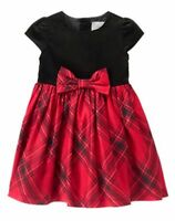 NWT Gymboree Royal Red Plaid Dress Girl 2T,3T,4T Holiday Christmas
