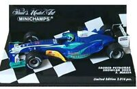 MINICHAMPS 020098 040012 040082 050082 SAUBER F1 model cars F Massa 2002-05 1:43