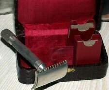 Vintage Gillette Safety Razor 1908 British Single Ring With Special Order Case!