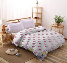 Vintage Floral 100% Cotton Quilt Set, Bedspread, Coverlet Indian Queen Comforter