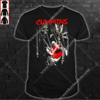 Cummins Men's US T-Shirt Top Gift