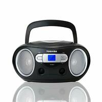 Toshiba Portable Top-Loading CD Boombox w/ AM/FM Radio Tuner