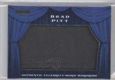 2010 Razor Cut Signature Edition Wardrobe Blue #SW-11 Brad Pitt Card 0k5