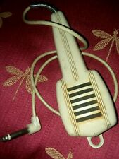 Cool old Vintage microphone with cord 50's - 60's era large plug