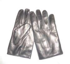 COACH Men's Basic Nappa Cashmere Lined Leather Gloves BLACK NWT 82863 medium M
