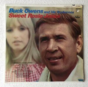 BUCK OWENS AND HIS BUCKAROOS~SWEET ROSIE JONES~1968 US 12-TRACK VINYL LP RECORD