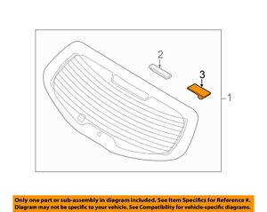 KIA OEM 11-16 Sportage-Lift Gate Glass Stopper 871152F200