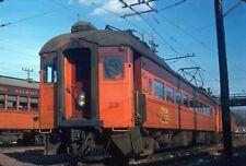 Kodak Original Slide  electric  coach  Chicago South Shore & South Bend  CSS #23