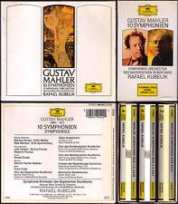 Rafael Kubelik: MAHLER SYMPHONY NO. 1 2 3 4 5 6 7 8 9 10 adagio bavarese 10cd