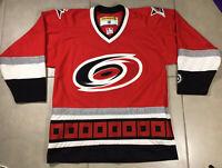 VTG 90s Men's Carolina Hurricanes Blank KOHO Red Authentic Size M jersey Hockey