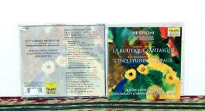 Respighi: Transcriptions for Orchestra, CD 1995, 20-Bit Digital, CLASSICAL - NM