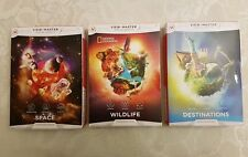 View Master Virtual Reality Experience Packs Space Destinations & Wildlife x 3