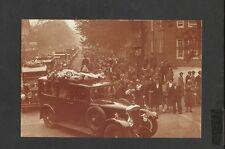 Nostalgia Postcard Funeral Of Captain Campbell Black Famous Airman London 1936
