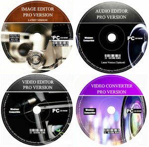 Audio Video Editing Software Image Photo Sound Creator Converter Editor Recorder