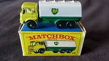 Matchbox Series No. 25 B.P. (British Petrol) Tanker with Box