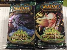World Of Warcraft Through The Dark Portal 24-count Booster Box LOT For WoW TCG