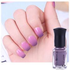 6ml Thermal Color Changing  Polish Peel Off UV Gel Nail Polish Gray to Purple
