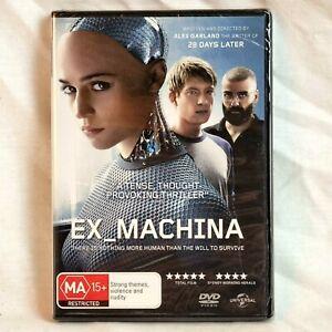 EX MACHINA DVD NEW Sealed  Oscar Isaac Alicia Vikander Region 4 FREE📮