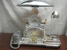 Collectible vintage lamp/phone/clock/play fish tank all in one