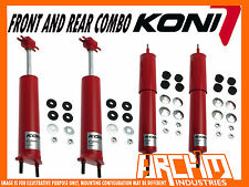 KONI ADJUSTABLE FRONT REAR SHOCK ABSORBERS FOR FORD MUSTANG 64 65 66 67 68 69 70