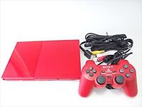 Playstation 2 Cinnabar Red SCPH-90000CR Manufacturer end of production USED