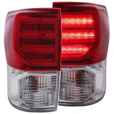 FOR TOYOTA TUNDRA 2007-2013 L.E.D TAIL LIGHTS TAIL LAMPS RED/CLEAR G2 LH+RH