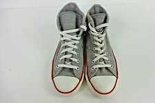 Converse All Star Gris Hi Tops Zapatillas para hombre talla EU 40 UK 7 grado C AC108