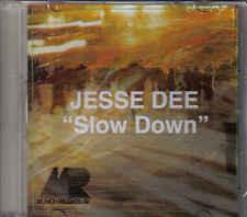 Jesse Dee-Slow Down Promo cd single