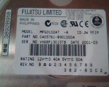 Hard Disk Drive IDE Fujitsu MPG3102AT 10GB CA05761-B901000A 382-80C2 AT 40-pin