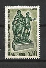 Andorre Français 1967 Yvert n° 181 neuf ** 1er choix