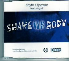 (DM801) ShyFx & Tpower, Shake UR Body - 2001 CD