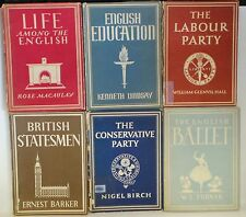 VINTAGE : SET OF 11 EDUCATIONAL BOOKS FROM 1941 ONWARDS