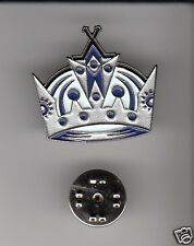Los Angeles Kings L.A. Hockey Team Crown Logo Metal Hat Lapel Pin New Sealed