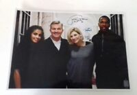"""DOCTOR WHO - Dr Who New TV Cast Autograph Reprint 8""""X11"""" A4 Laminated Poster BBC"""