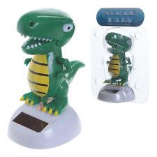 Solar Powered moving dancing Dinosaur Tyrannosaurus Rex figure ornament 9.5 cm