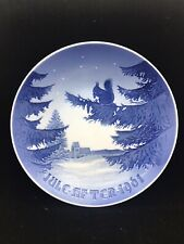 """1961 Bing and Grondahl Christmas Plate 7 1/4"""" - Excellent Condition"""