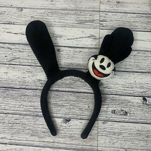 Disney Headband Hair band Ears Hat Oswald the Lucky Rabbit Used