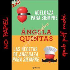 Angela quintas 2x1 slimming Forever + recipes-no paper-epub-pdf-mobi - spanish