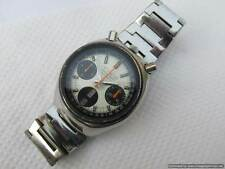 Vintage Men's CITIZEN AUTOMATIC CHRONOGRAPH BULLHEAD 8110 Tachymeter Watch Japan