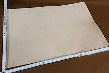 Blankleder Stück, 32x46x55 Dickleder für Scheide, Holster, Köcher, Punzierleder