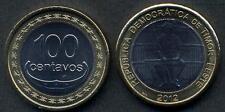 EAST TIMOR 100 Centavos 2012 bimetallic UNC