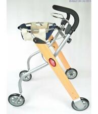 TrustCare Lets Go Indoor Rollator With Bag and Tray Compact Lightweight Trolley