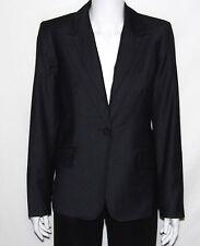 NEW Anne Klein Suit SIZE 8 Seamed Stitched Jacket SLATE GREY