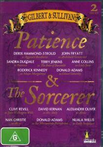 Gilbert & Sullivan - Patience & The Sorcerer - DVD - Region 4 - FAST POST