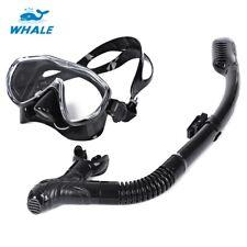 Professional Scuba Diving Silicone Mask Snorkel Glasses Set Breath Swimming Tool