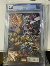 Marvel Point One #1 CGC 9.8 Bradshaw Variant - 1st Nova Sam Alexander 2012 HOT