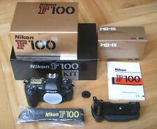 Nikon F100 Professional Kit, MB-15, original Riemen, OVP, boxed F 100