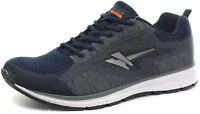 Gola Active Fortuna Mens Navy & Grey Lightweight Lace Up Running Gym Trainers