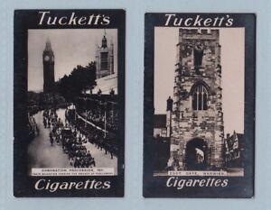 Cigarette Cards - British Views (Tuckett Ltd.) - 2 Cards